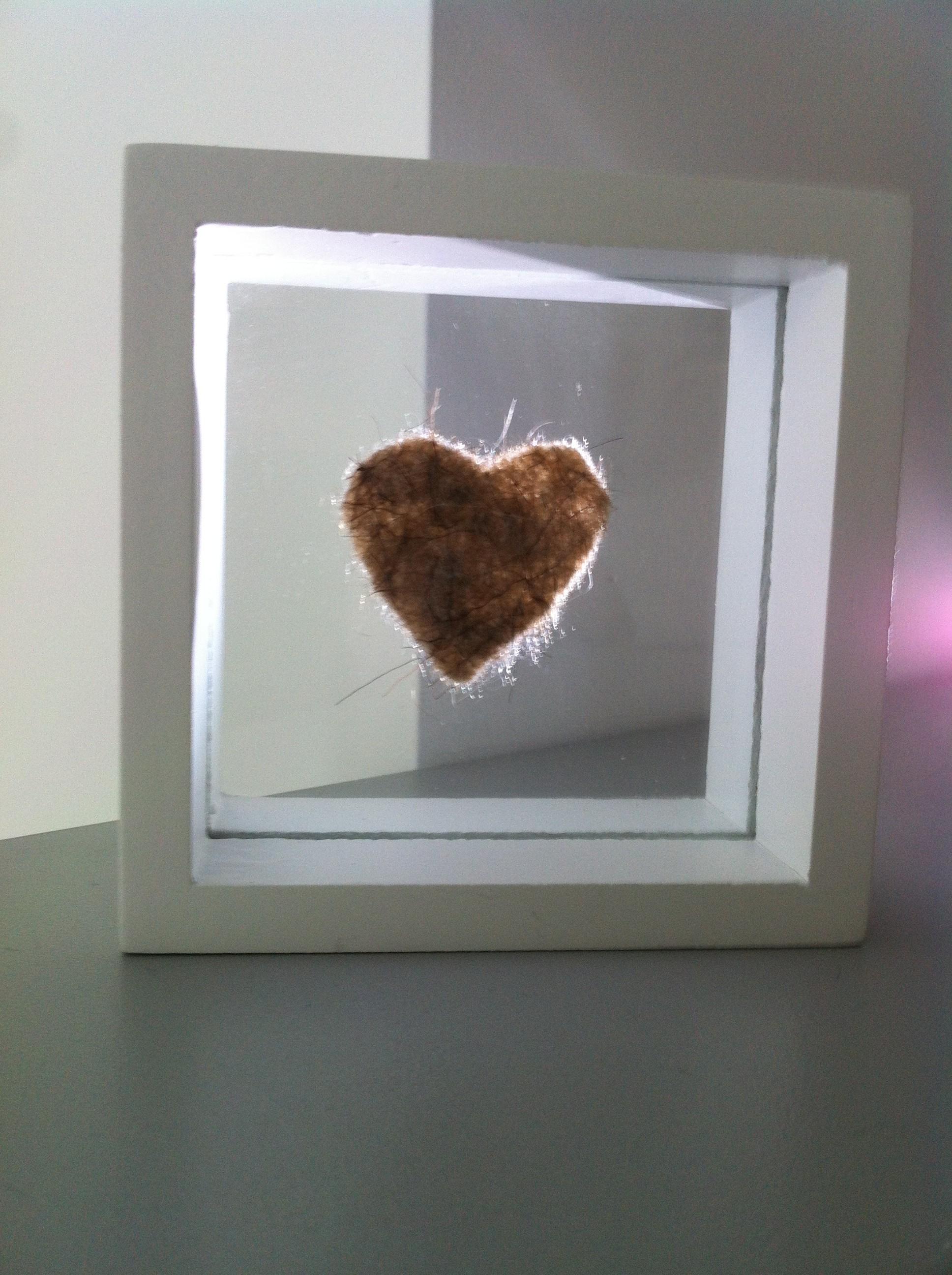 Bilderrahmen aus Holz - Pigmentum Urnen